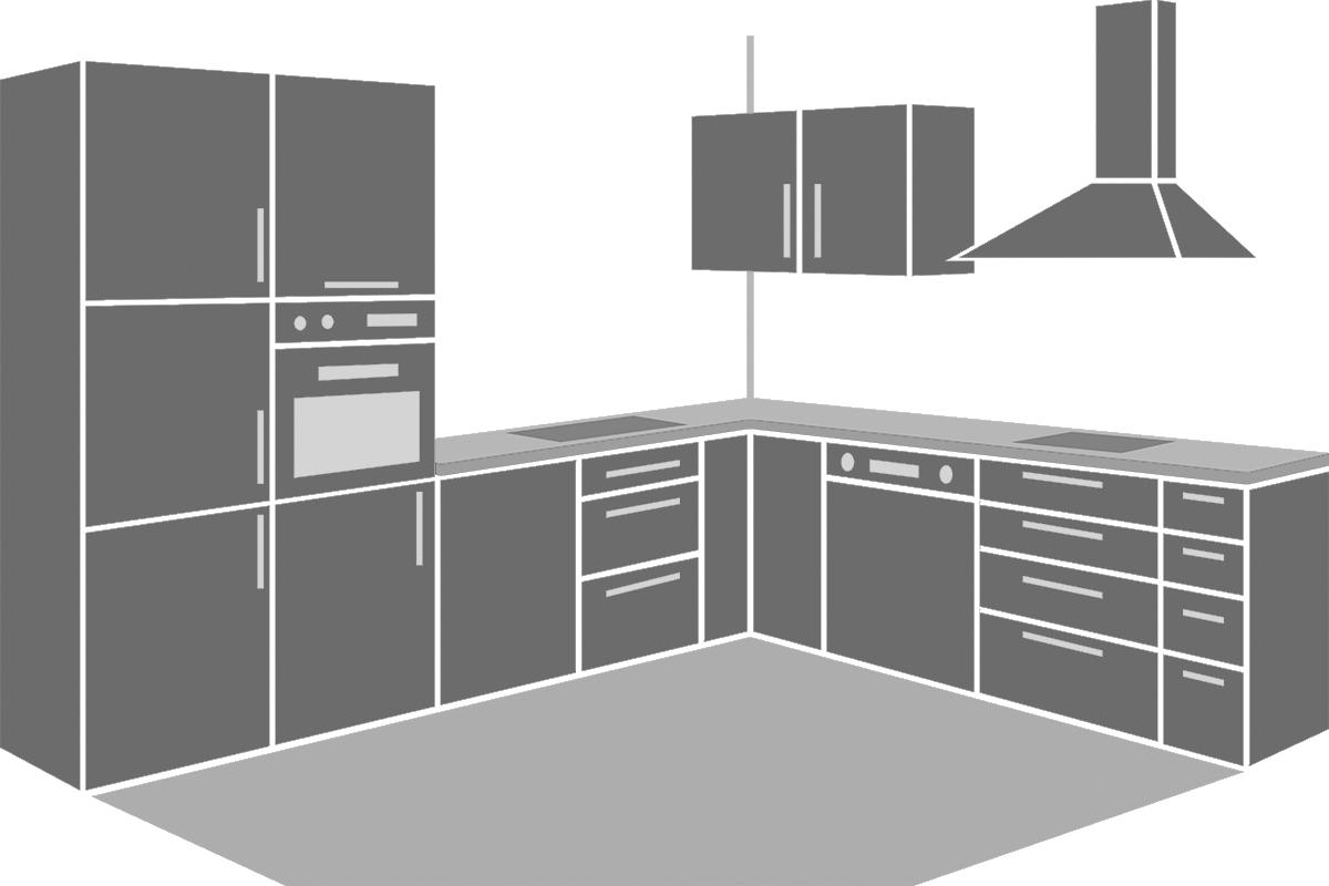 Ausgezeichnet Küchenschrank Geführte Streifenlichter Galerie - Ideen ...