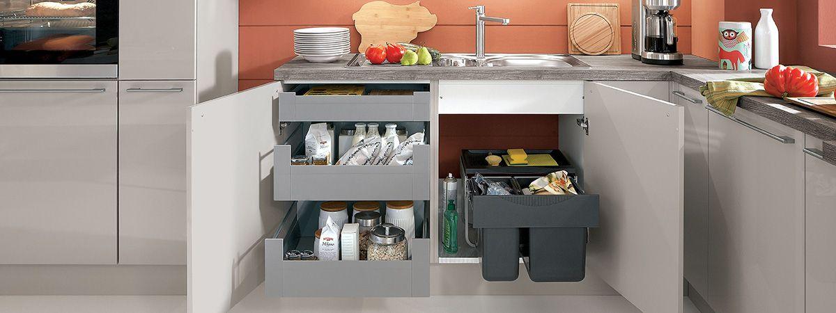 Hochwertig Abfalltrennung In Der Küche